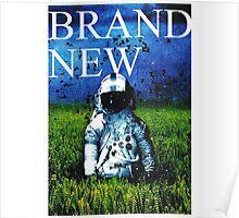 Brand New Deja Blue Poster