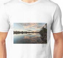 Sunset Wollamba river Unisex T-Shirt