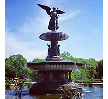 Bethesda Fountain, Central Park, New York. Photographic Print