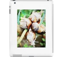 Summer Onion Sprouts iPad Case/Skin