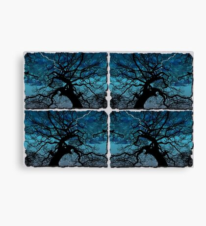 Lightning Tree Canvas Print