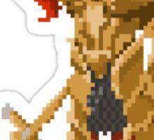 Pixel Souls - Dragon Slayer Ornstein Sticker