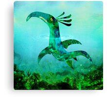 Childhood Dragons - the Sea Serpent Canvas Print