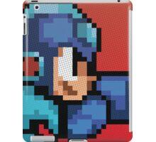 Megaman 8bit Halftone iPad Case/Skin