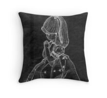 The Reflection of Hope (Old Sketch Invert) Throw Pillow