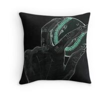 Left Handed (Old Sketch Invert) Throw Pillow