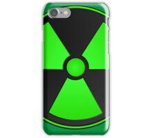 Green Radioactive Symbol iPhone Case/Skin