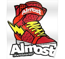 Almost Skateboards Poster