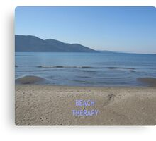 Beach Therapy Canvas Print