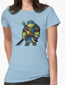 Chibi Leo Womens Fitted T-Shirt