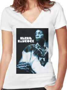 Herbie Hancock - Maiden Voyage Women's Fitted V-Neck T-Shirt