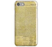 Declaration of Independence iPhone Case/Skin