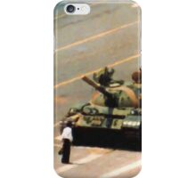 Tank Man Painting iPhone Case/Skin