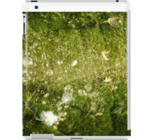 The Sticky Sappy Stuff From a Tree with Tiny White Insects iPad Case/Skin
