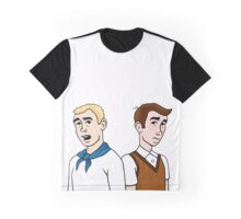 Hank and Dean Venture Graphic T-Shirt