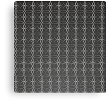 Pencil Drawing Black and White Pattern Canvas Print
