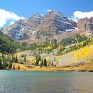 The Maroon Bells II by Eric Glaser