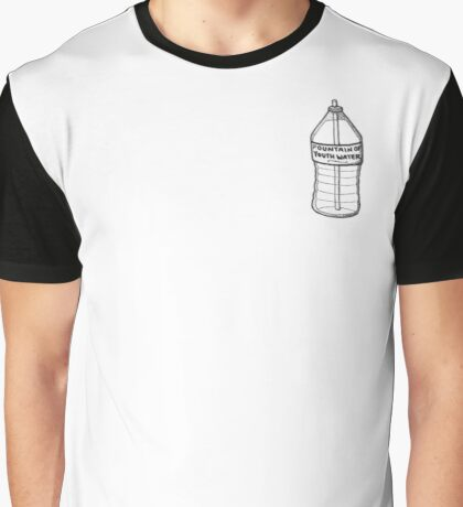 Fountain of Youth Water Graphic T-Shirt