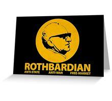 ROTHBARDIAN Greeting Card