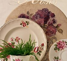 Many Rose Designs by Sandra Foster