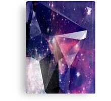 New Age Surreal Universe Faceted Geometric Print Canvas Print