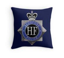 Sanford Police Badge Throw Pillow