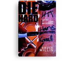 DIE HARD 20 Canvas Print