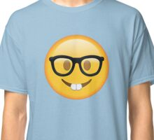 Nerd Glasses Buckteeth Emoji Design Classic T-Shirt