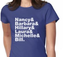 First Ladies Helvetica Womens Fitted T-Shirt