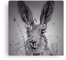 HAROLD HARE BLACK AND WHITE Canvas Print