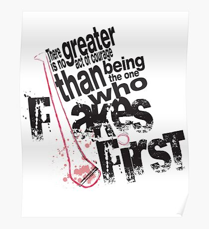 Flake First Poster