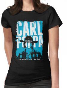 Carl Poppa Womens Fitted T-Shirt