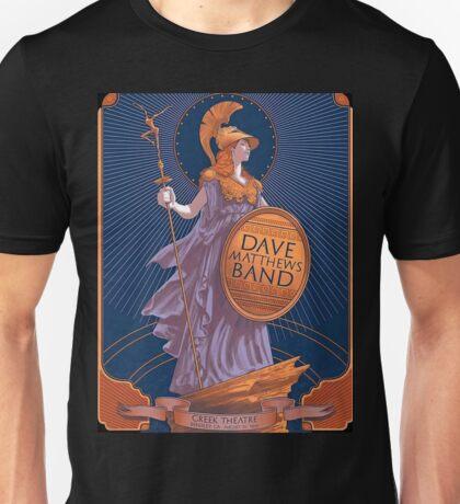 DMB Greek Theatre Berkeley CA, SUMMER TOUR 2016 Unisex T-Shirt