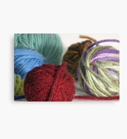 Goodness! Gracious! Great Balls of Yarn! Canvas Print