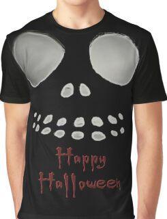Happy Halloween, skeleton, skulls eyes, face Graphic T-Shirt