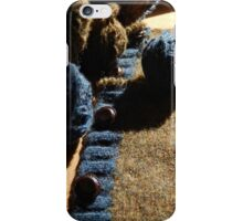Unraveling a Wool Sweater iPhone Case/Skin