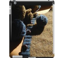 Unraveling a Wool Sweater iPad Case/Skin