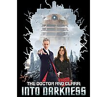 The Doctor and Clara: Into Darkness Photographic Print