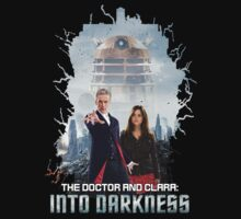 The Doctor and Clara: Into Darkness by PaulMonj