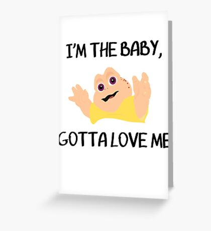 Baby Sinclair Greeting Card