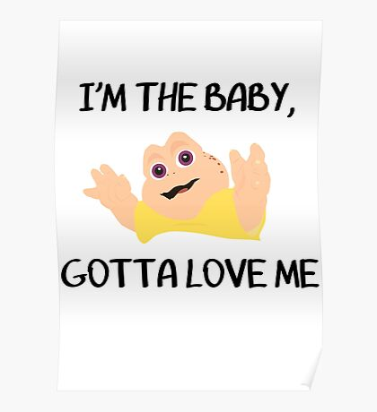 Baby Sinclair Poster