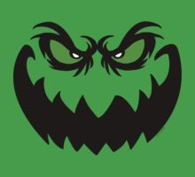 Evil Halloween Ghoul Face  Kids Clothes
