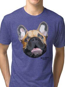 The Chop face Tri-blend T-Shirt