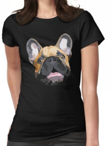 The Chop face Womens Fitted T-Shirt