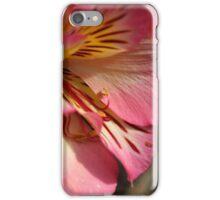 Peruvian lily (Alstroemeria aurea) iPhone Case/Skin