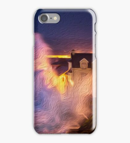 lahinch storm iPhone Case/Skin
