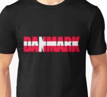 Denmark Flag Unisex T-Shirt