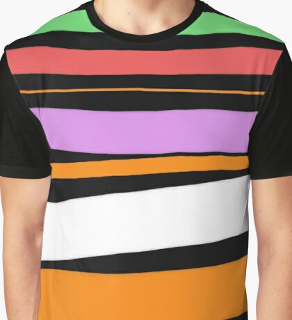 Pastel Brush Stokes Graphic T-Shirt