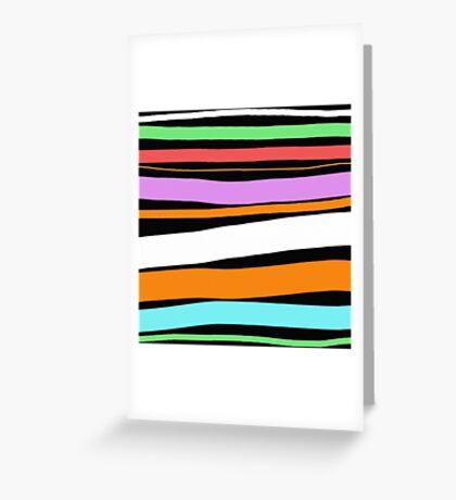 Pastel Brush Stokes Greeting Card