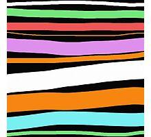 Pastel Brush Stokes Photographic Print